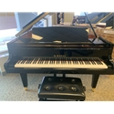 Kawai GM-10 Baby Grand Piano Ebony Polish