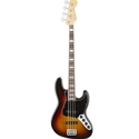 Fender American Elite Jazz Bass Guitar 3-Tone Sunburst