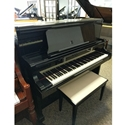 "Kawai US-6X 52"" Upright Piano Ebony Polish - Pre-Owned"