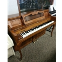 Bladwin Studio Walnut Upright Piano