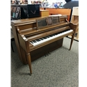 Sohmer Upright Console Piano Walnut